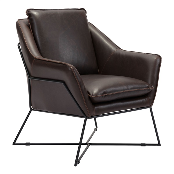 Lincoln Lounge Chair (Brown)