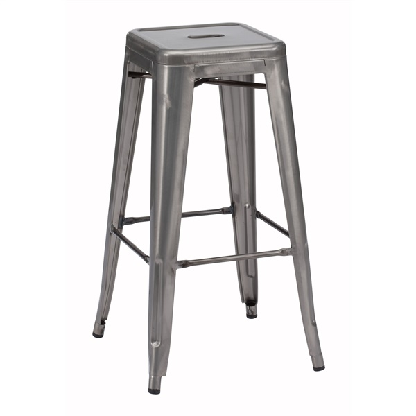 Marius Bar Chair (Gunmetal)