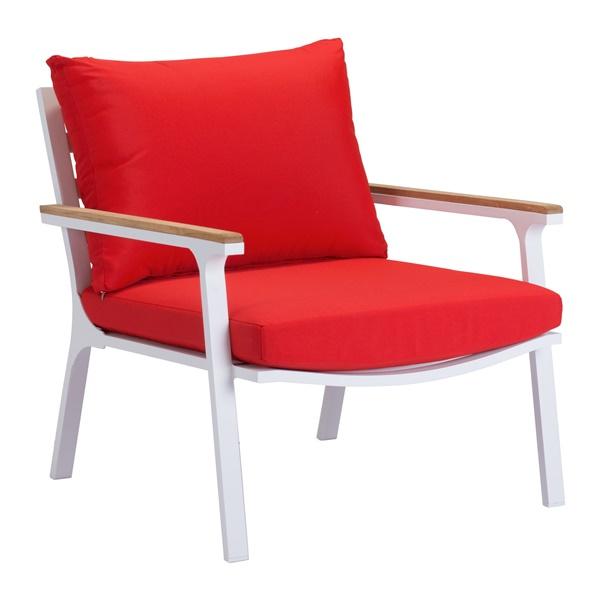 Maya Beach Arm Chair (Red)