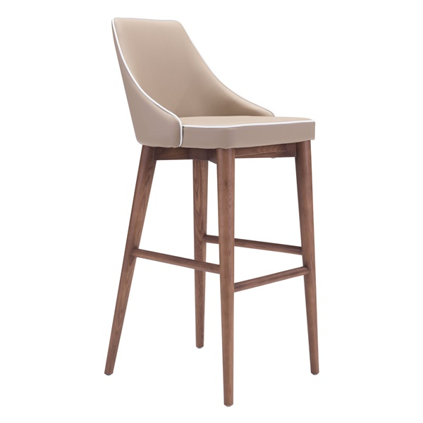 Moor Bar Chair (Beige)