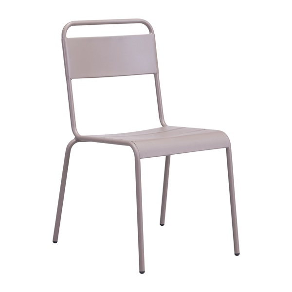Oh Dining Chair (White) - Shown with 2 Dining Chairs