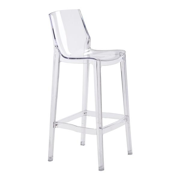 Phantom Bar Chair - Clear