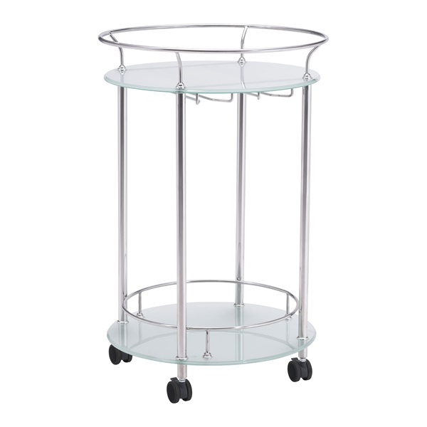 Plato Serving Cart (Stainless Steel)