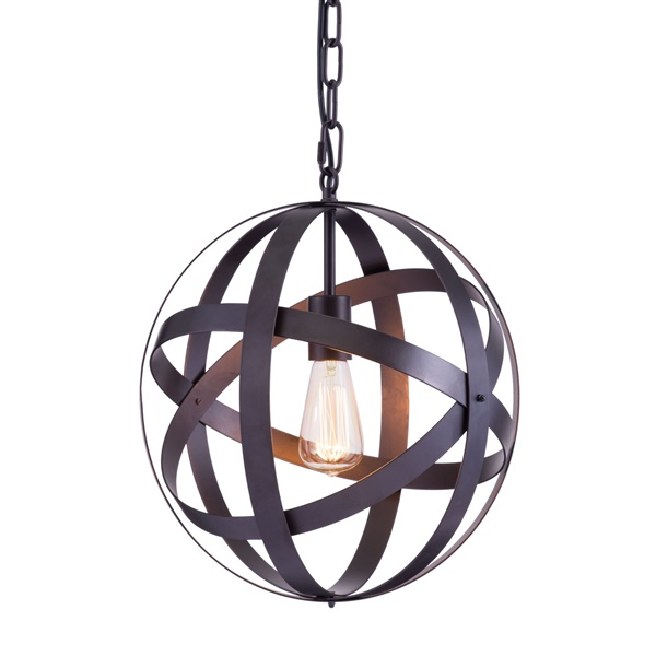 Plymouth Ceiling Lamp - Rust