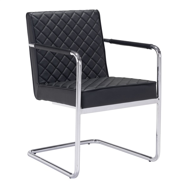 Quilt Dining Chair (Black)