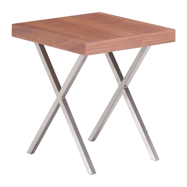 Renmen Side Table - Walnut
