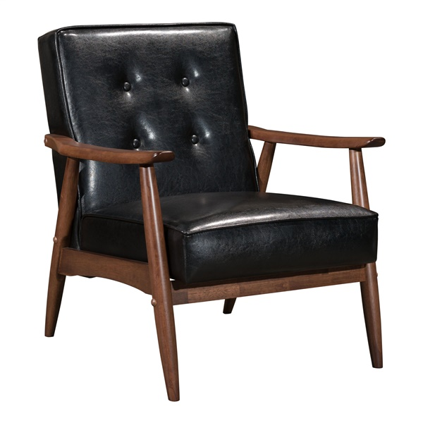 Rocky Arm Chair (Black)