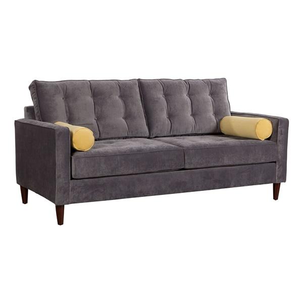 Savannah Sofa - Slate/Golden