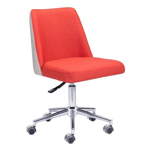 Season Office Chair - Orange/Beige