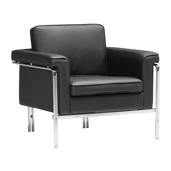 Singular Arm Chair (Black)