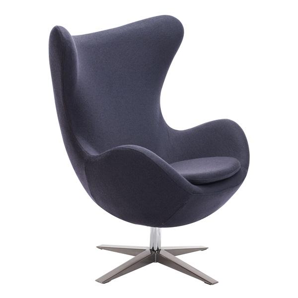 Skien Arm Chair (Iron Gray)