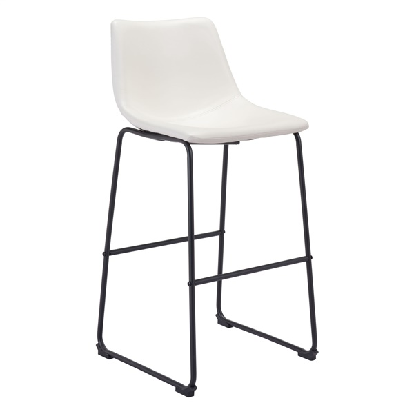 Smart Bar Chair (Distressed White)