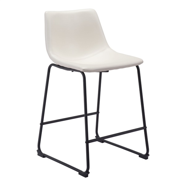 Smart Counter Chair (Distressed White)