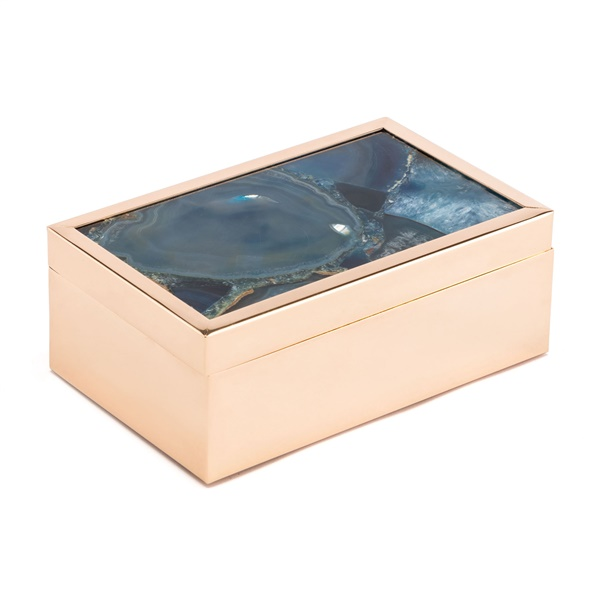 Stone Box (Small/Blue)