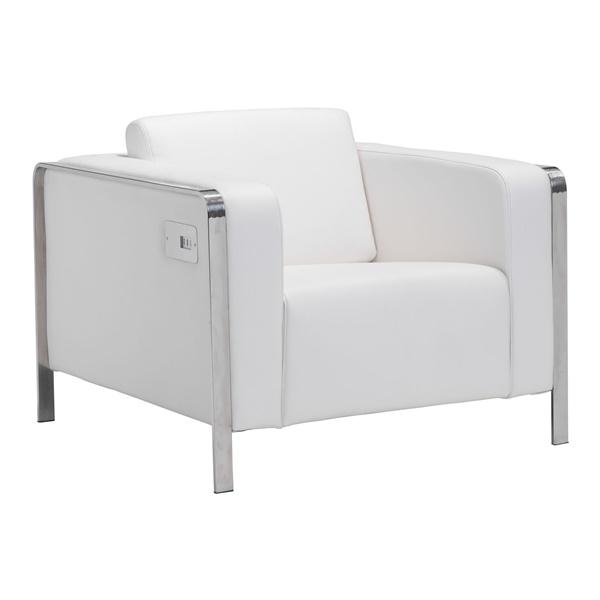 Thor Arm Chair (White)