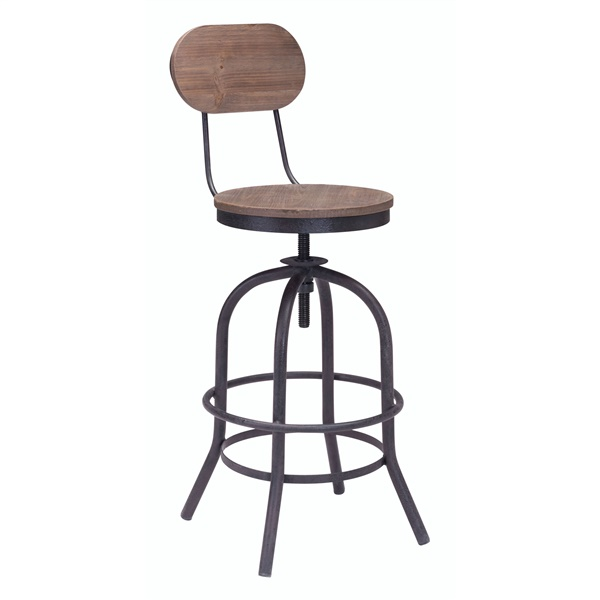Twin Peaks Counter Chair
