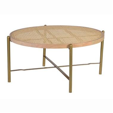 Aries Coffee Table (Metal Base)
