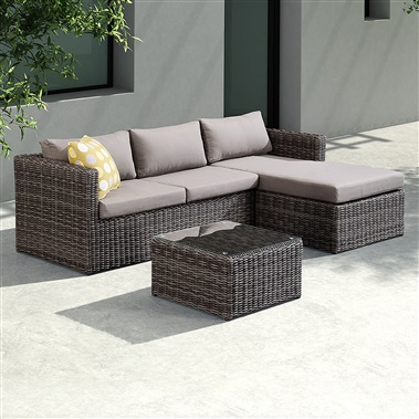 3-Piece Hagen Outdoor Sectional Set