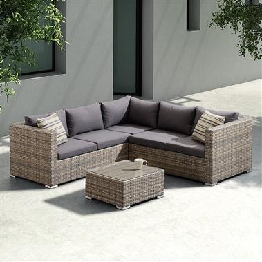 3-Piece Nina Outdoor Sectional Set