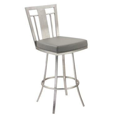"Cleo 26"" Modern Swivel Counter Stool"