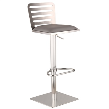 Delmar Adjustable Bar Stool