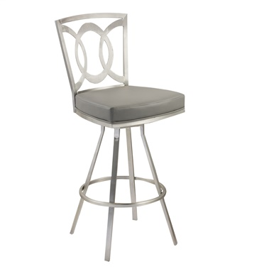 "Drake 26"" Contemporary Swivel Counter Stool"