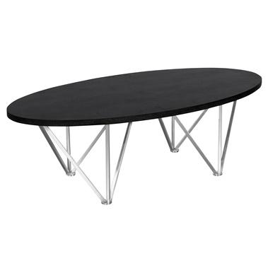 Emerald Oval Coffee Table