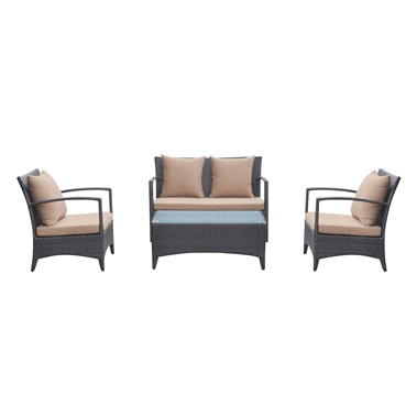 Havana 4-Piece Coffee Table Set