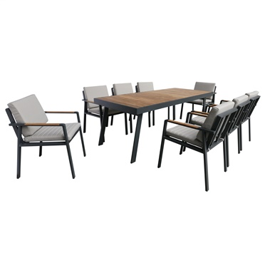Nofi 9-Piece Dining Set