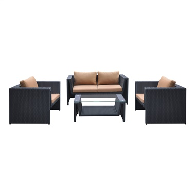 Oahu 4-Piece Coffee Table Set