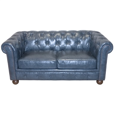 Winston Leather Loveseat