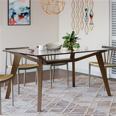 Asta Glass Dining Table