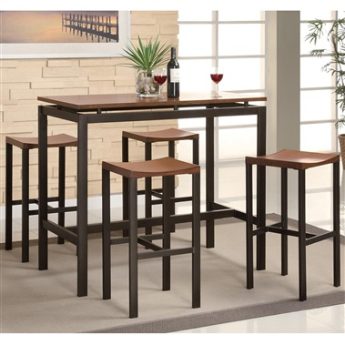 Atlus 5-Piece Bar Table Set