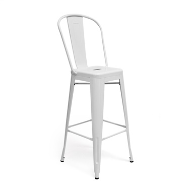 Bastille Bar Stool with Back (Set of 2)