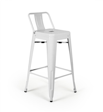 Bastille Counter Stool with Low Back