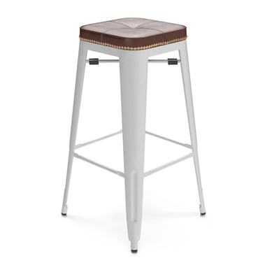Bastille Upholstered Cafe Bar Stool