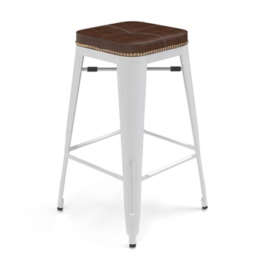 Bastille Upholstered Cafe Counter Stool