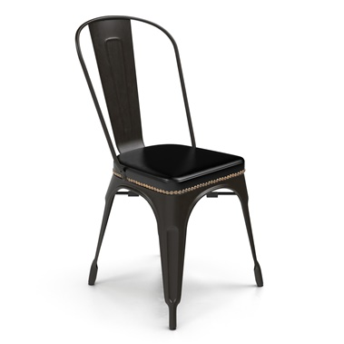 Bastille Upholstered Cafe Stacking Chair