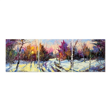 Wintered Forest