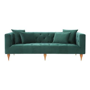 Brielle Velvet Sofa