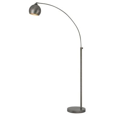 Metal 1-Light Arc Floor Lamp