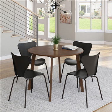 Clara / Aspen 5-Piece Dining Set