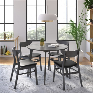 Clara / Ivan 5-Piece Dining Set