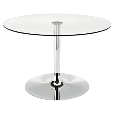 Large Planet Table with Glass Top