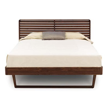 Contour Bed without Shelf Nightstands
