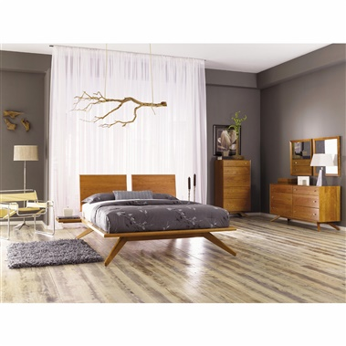 Copeland Furniture Astrid 4-Piece Bedroom Set
