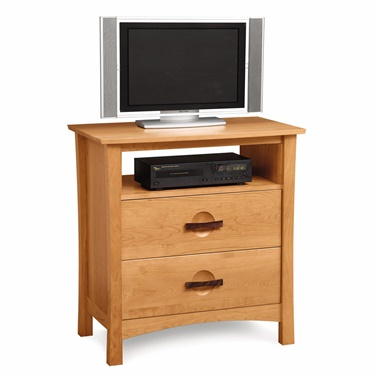 Copeland Furniture Berkeley 2-Drawer Chest with Media Organizer