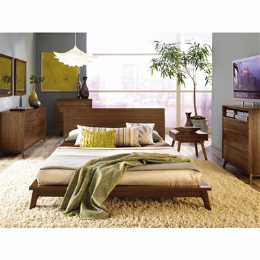 Copeland Furniture Catalina 4-Piece Bedroom Set