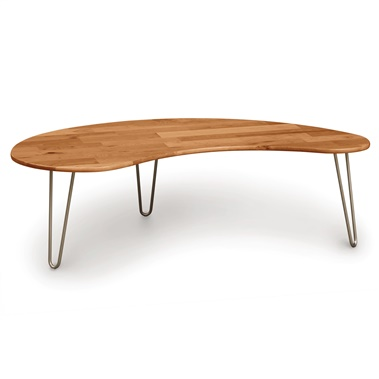 Essentials Kidney Shaped Coffee Table