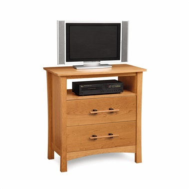 Copeland Furniture Monterey 2-Drawer Chest with Media Organizer